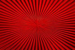 Linee dello zoom del nero & di rosso Fotografie Stock