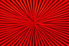 Linee dello zoom del nero & di rosso Immagini Stock