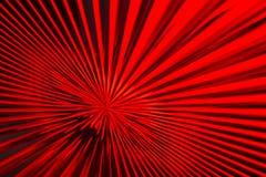 Linee dello zoom del nero & di rosso Fotografia Stock