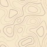 Linee di contorno illustrazione vettoriale