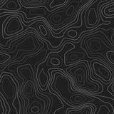 Linee di contorno illustrazione di stock
