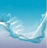 Linee di galleggiamento illustrazione di stock