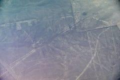 Linee di Nazca - il condor Fotografia Stock Libera da Diritti
