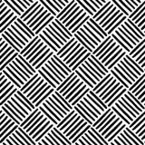 Linee diagonali sistemate nei quadrati Immagine Stock Libera da Diritti