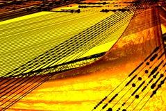 Linee e curve Fotografia Stock Libera da Diritti