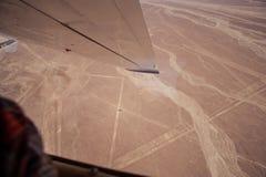 Linee e geoglyphs di Nazca Immagini Stock Libere da Diritti