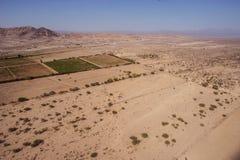 Linee e geoglyphs di Nazca Fotografia Stock Libera da Diritti