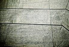 Linee e modelli sul pavimento di marmo Immagine Stock