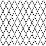 Linee e punti sistemati nel modello del argyle Immagini Stock Libere da Diritti