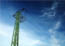 Linee elettriche Immagini Stock
