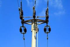 Linee elettriche fotografie stock libere da diritti