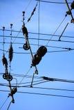 Linee elettriche 3 Immagine Stock