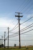 Linee elettriche Immagini Stock Libere da Diritti