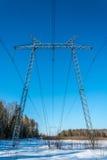 Linee elettriche. Immagine Stock Libera da Diritti