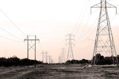 Linee elettriche Immagine Stock Libera da Diritti