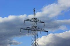 Linee elettriche all'aperto Immagini Stock