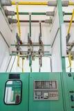 Linee elettriche del collegamento Fotografia Stock Libera da Diritti