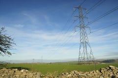 Linee elettriche di elettricità immagini stock libere da diritti