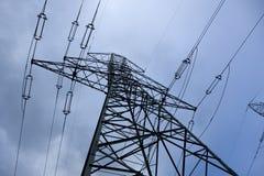 Linee elettriche volt Immagine Stock Libera da Diritti