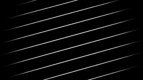 Linee generative bianche stock footage