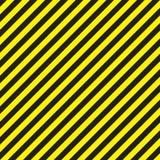 Linee geometriche astratte con le bande nere e gialle diagonali Illustrazione di vettore Fotografia Stock Libera da Diritti