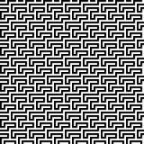 Linee geometriche nere fondo Fotografia Stock Libera da Diritti