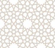 Linee grige del motivo a stelle geometrico con fondo bianco illustrazione di stock