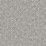 Linee irregolari senza cuciture modello di mosaico di vettore Struttura caotica astratta di tessellazione fotografie stock libere da diritti