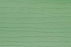 Linee ondulate nel verde di primavera Immagine Stock