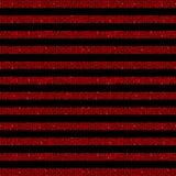 Linee orizzontali parallele zecchini rossi Stelle Fotografia Stock Libera da Diritti