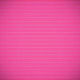 Linee orizzontali rosa Fotografia Stock Libera da Diritti