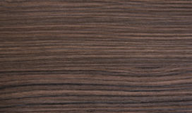 Linee orizzontali struttura di legno falsa marrone della stampa Immagini Stock