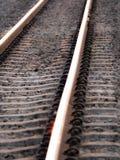 Linee parallele della ferrovia fotografie stock libere da diritti