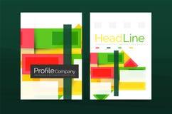 Linee rette modelli geometrici della relazione di attività Fotografie Stock