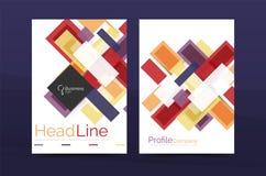 Linee rette modelli geometrici della relazione di attività Fotografia Stock