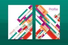 Linee rette modelli geometrici della relazione di attività Fotografie Stock Libere da Diritti