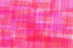 Linee rette rosse di struttura e rosa astratte Fondo Immagini Stock