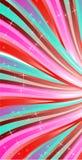 Linee rosa di astrazione Fotografia Stock