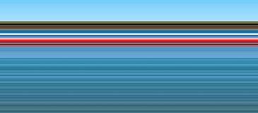 Linee rosso blu di Natale del fondo Immagine Stock Libera da Diritti