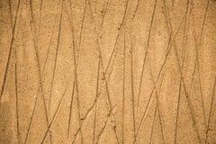 Linee sabbiose della diagonale del primo piano del fondo Fotografia Stock Libera da Diritti