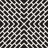 Linee senza cuciture modello di vettore Struttura astratta alla moda moderna Ripetizione delle mattonelle geometriche con gli ele royalty illustrazione gratis