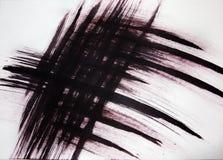 Linee strette disegnate che intersecano ad angolo Vibrazione delle piume dagli uccelli di volo fotografie stock