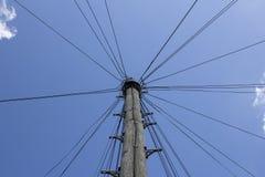 Linee telefoniche Fotografie Stock