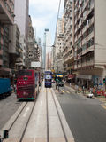 Linee tranviarie Fotografia Stock Libera da Diritti