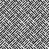 Linee tratteggiate sistemate diagonalmente nell'ordine regolare illustrazione vettoriale