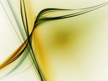 Linee Verde Fotografia Stock