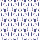 Linee verticali e cerchi di colore di vettore Fotografie Stock Libere da Diritti