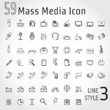 LineIconBusiness Royalty Free Stock Image