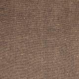 Linen взгляд сверху бежа ткани Стоковая Фотография