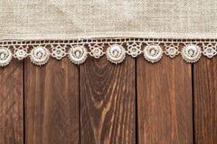 Linen салфетка стоковые фотографии rf
